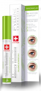 Eyelashes Concentrated SERUM 3 IN 1 ADVANCE VOLUMIÉRE, Eveline Cosmetics, 10ml