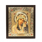 "Icon ""Holy Virgin Mary"" 15x18 cm, gold color"