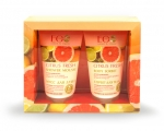 Citrus Fresh Set, 300 ml, cream sorbet and mousse for the shower