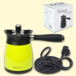 Electric coffee maker, 0.4l, V-FS21, 1000W, green