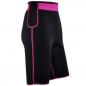 Preview: Fitness - Shorts aus Neopren mit Biokeramik, Black / Pink
