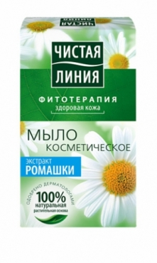 Soap with chamomile extract for children, 80g, Pure line