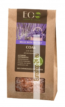 Bath Salts Relaxation, 400g, EO Laboratory
