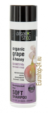 Hair balm Grap and Honey, 280 ml​​, Organic Store
