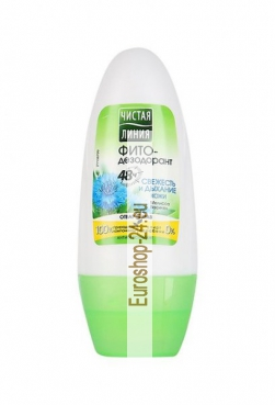 Phyto Deo Roll freshness and skin breathing, deodorant, 48 ml, Pure Line