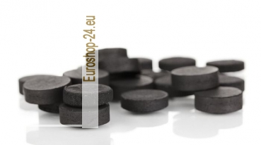 Activated charcoal, 10 tablets x 0.25g, PharmaMarket
