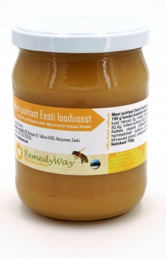 Honey from the pure nature of Estonia, 700g, RemedyWay