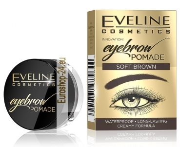 Eveline Eyebrow Pomade Soft Brown 10ml