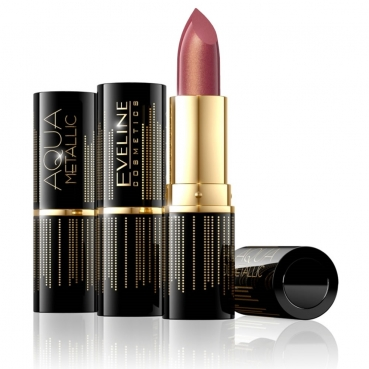 Lipstick AQUA Metallic, Cherry Gold, 803