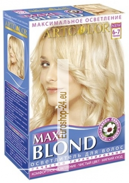 """Maxi blond"" for hair Artcolor 30 g 60 ml"