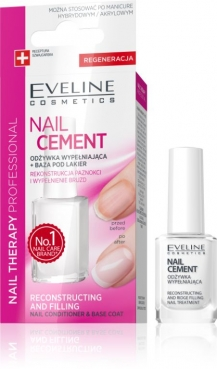 NAIL THERAPY, Eveline, Nail CEMENT Conditioner for nails, 12 ml