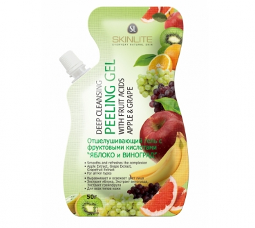 Peeling - Gel Apples and Grapes, Skinlite, 50г