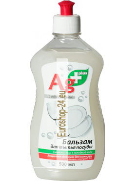 Dishwashing balsam with silver ions, 500 ml, BIO formula, BIO Ag +