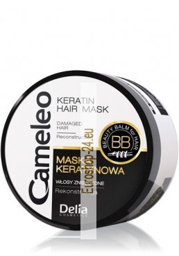 Cameleo Keratin Mask for Damaged Hair, Reconstruction of hair, 200ml
