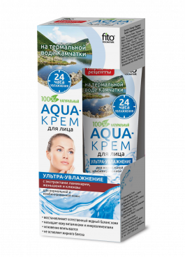 Aqua - Gesichtscreme mit Thermalwasser, Ginseng, 45ml, FITO Cosmetic