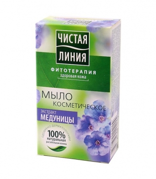 Cosmetic soap with Lungwort extract, 80g