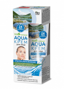 Aqua facial cream on thermal water, 45ml, FITO Cosmetic