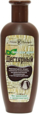 Shower Gel tar, 250 ml, Nevskaya cosmetics