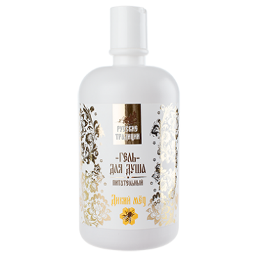 Shower Gel, Wild Honey, 250ml, Russian traditions