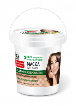 Haarmaske Traditionelle mit Hefe, 155ml, FITO Cosmetic