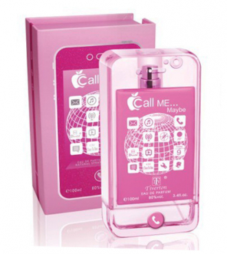 Call Me Maybe in iPhone Look, rosa- Damenduft - 100 ml
