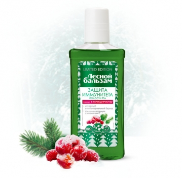 Mouthwash for teeth and gums, 250ml, Forest Balsam