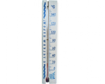 Thermometer CT- 16 / 10, 220 x 40mm