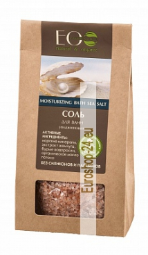 Bath salt, Moisturizes the skin, 400g, EO Laboratorie
