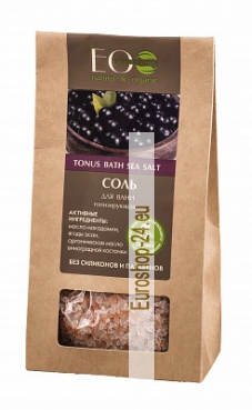 Bath salt, tonifying, 400g, EO Laboratorie