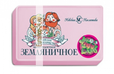 Strawberry soap, toilet soap, 140 g, Nevskaya Kosmetika