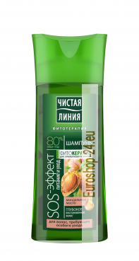 Pure line, Shampoo SOS effect, 250ml