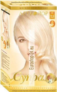 Artkolor Supra Hair Brightener, with Acacia Honey Extract 30 g 60 ml.