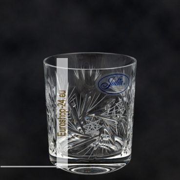 Whisky glas Set (6er) 280 ml, H-9 cm, D-8 cm