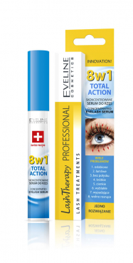 Lash Eyelash Serum concentrated Therapy 8 in 1, Eveline, 10ml