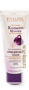 NIGHT CREAM for face, rejuvenating, goat´s milk, 75ml