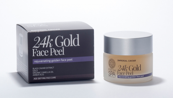 24K Golg GOMMAGE for face, BioGold, 50ml, Natura Siberica