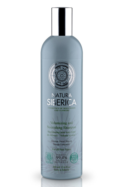 SHAMPOO for all hair types, Volumizing and Nourishing, 400ml