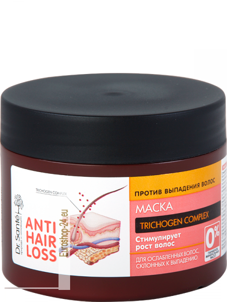 Hair mask against hair loss 300ml, Dr.Sante