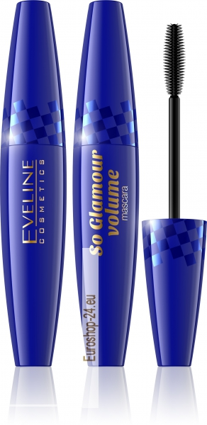 SO GLAMOUR VOLUME MASCARA, 10ml. Eveline