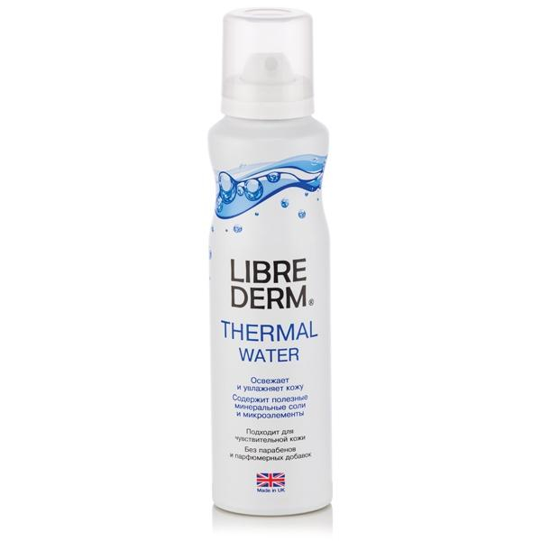 Thermal water Librederm, refreshes and moisturizes the skin, 125ml