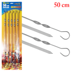 Schampur / skewers, 10 pcs (50 cm), 1,5 mm stainless steel